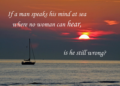 If a man speaks his mind 57