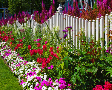 Mackinac Flower Garden