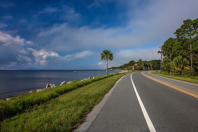 Florida Panhandle Highway 98