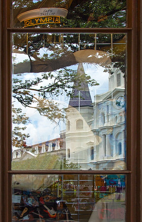St. Louis Cathedral reflection