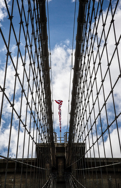 Brooklyn Bridge Flag