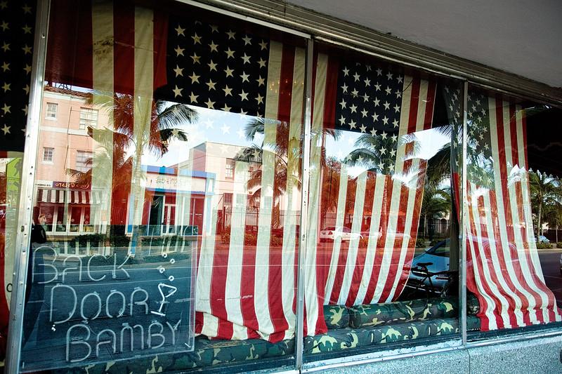 Miami Beach Bar Flags