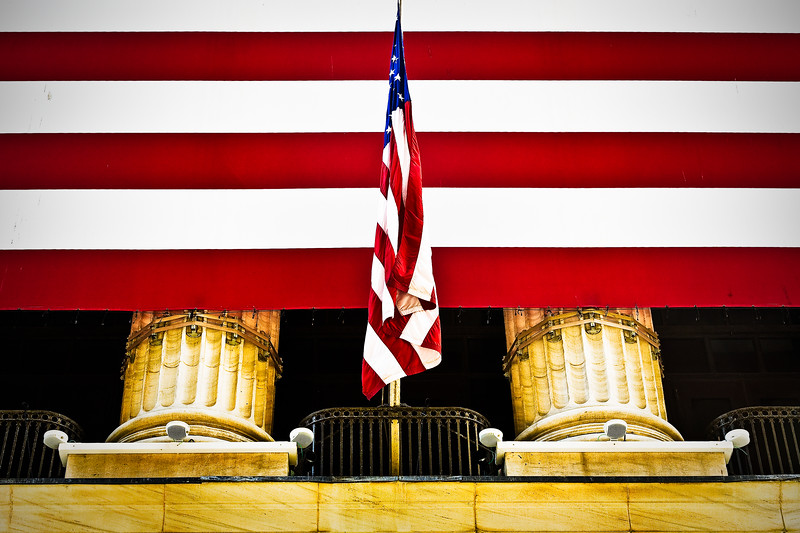 Stock Exchange Flags