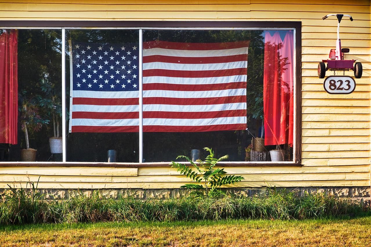 Lawn Mower Repair Flag