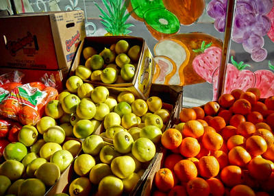 Fruit at the Pleasant Hill Market