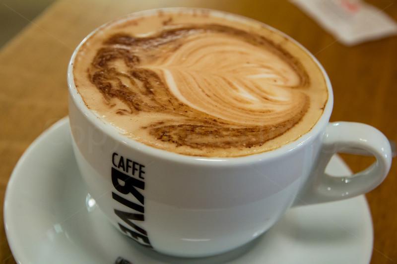 Morning coffee in Copenhagen