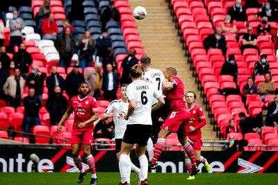 22nd May 2021 - FA Trophy Final between Hereford FC and AFC Hornchurch