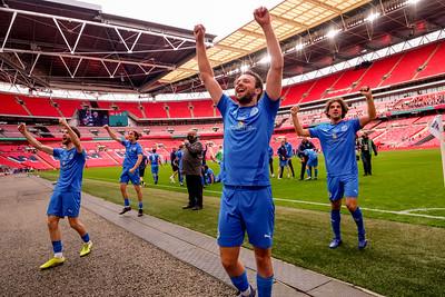22nd May 2021 - FA Vase Final between Binfield FC and Warrington Rylands FC