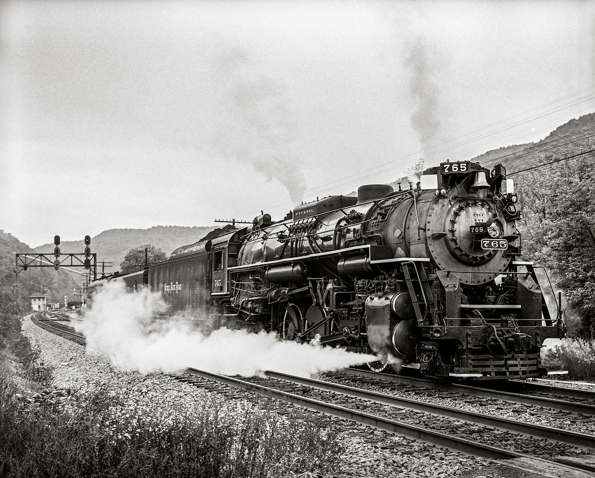 Nikel Plate 765 Steam Locomotive