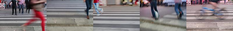 Frenesí peatonal