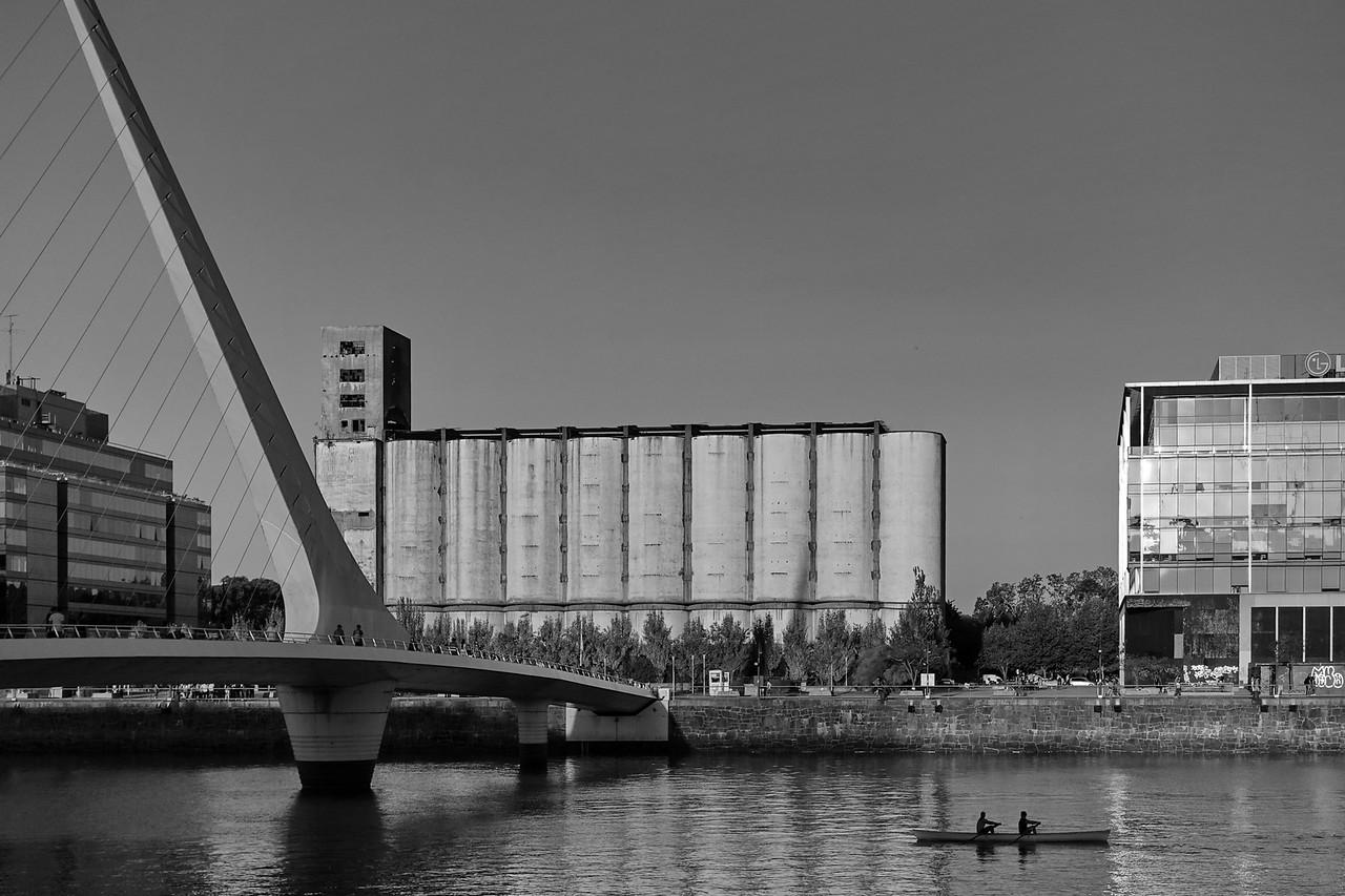 Remeros en Puerto Madero - Buenos Aires - Argentina