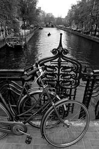 Bicis y remos - Amsterdam - Holanda