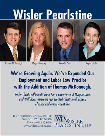 Advertisement for law firm