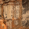 Anthropomorphic petroglyphs, Dinwoody Tradition, Wyoming