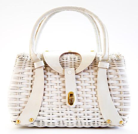 Vintage white purse