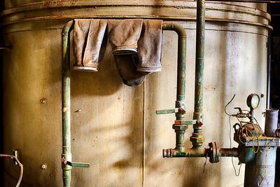 Hanging Hoses, Laramie, WY 2013 HDR image © Edward D Sherline
