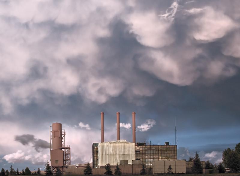 Powerplant, Laramie, Albany County, WY 2011<br /> © Edward D Sherline