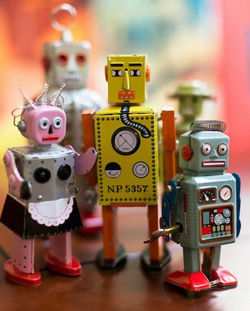 Robot gang