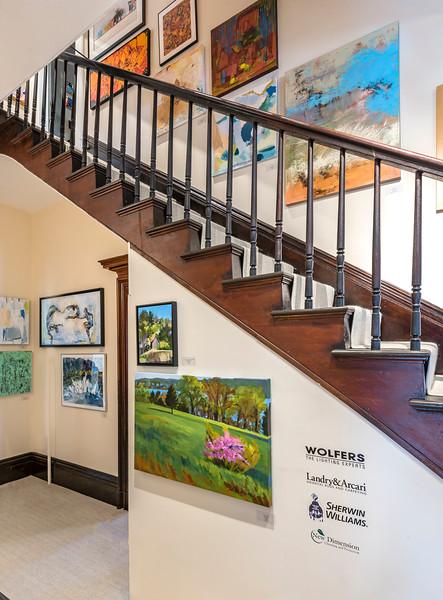 Elaine Fredrick_NAWAMA Hallways:stairs_7