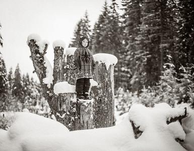 Snow Podium