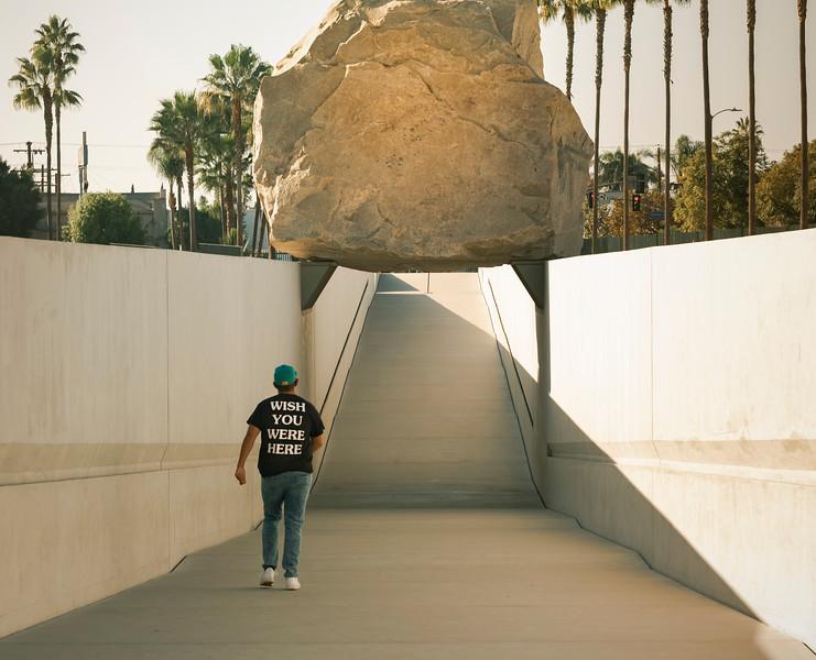 Levitating Rock, LACMA
