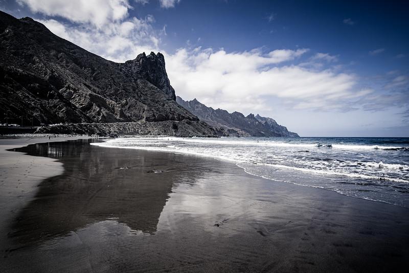 Roque de las Bodegas Beach.