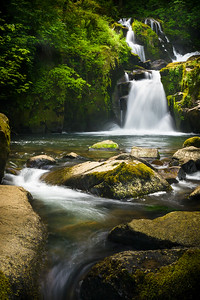 Sweet Creek Falls, Oregon