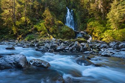 Hoh River Falls