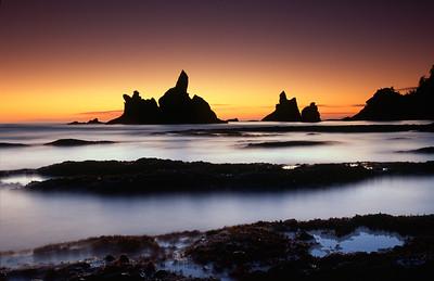 Shi Shi Beach Twilight