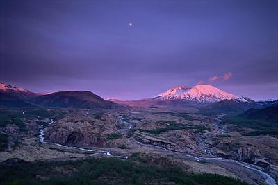 Toutle River Valley Moonrise (2005)