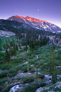 Diamond Peak Moonrise I
