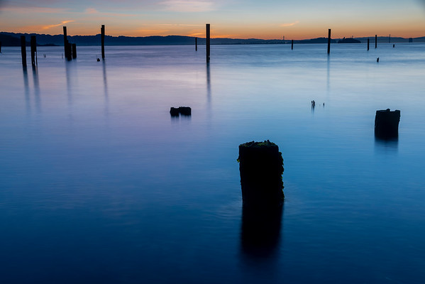 Blue hour over the Bay