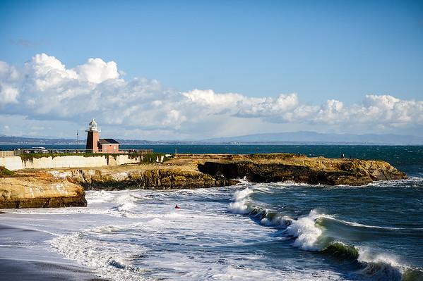 Lighthouse Point Park Santa Cruz California