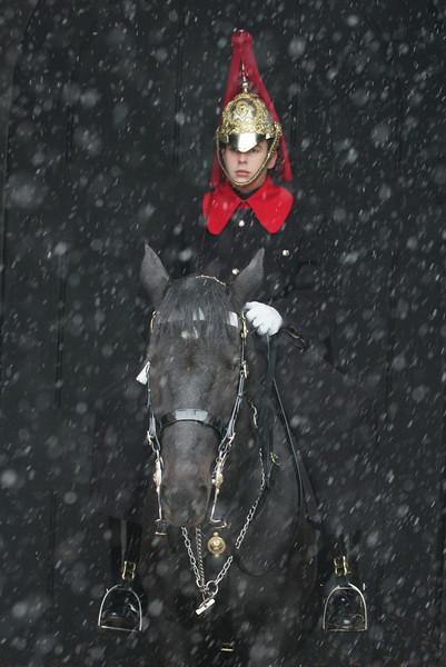 Young cavalryman