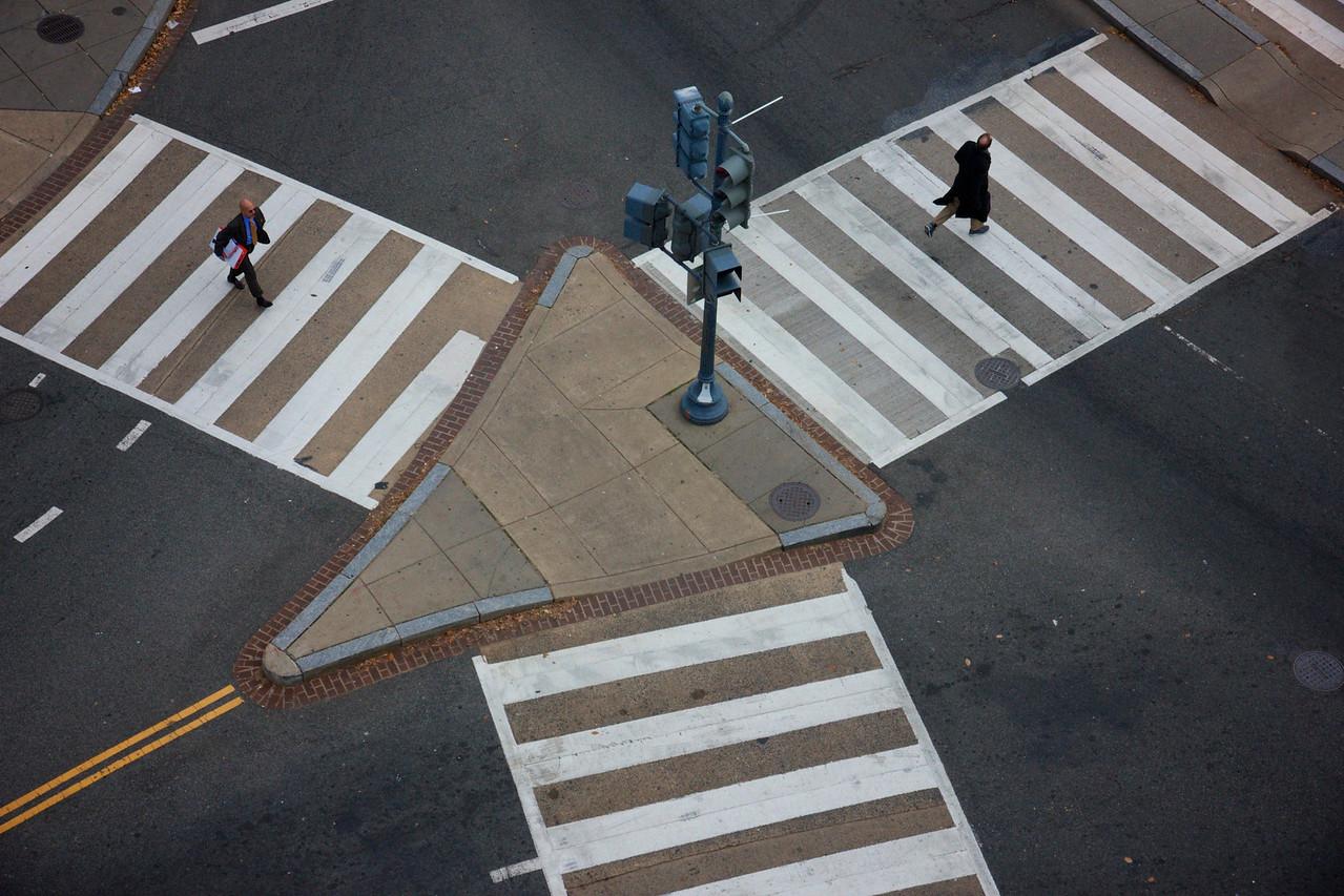 Dupont Circle crossing