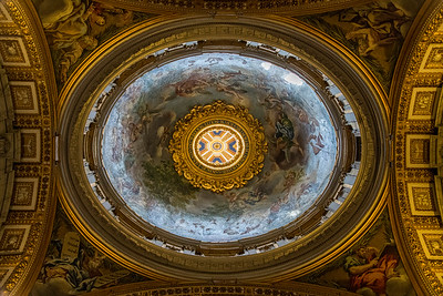 One of many domes in the Vatican, Vatican City, Italy