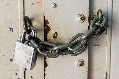 Strong padlock and chain