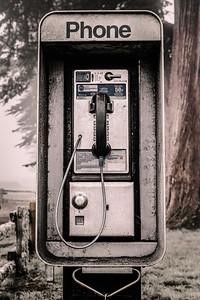 Pay Phone, Pierce Point Ranch, Point Reyes National Seashore, California