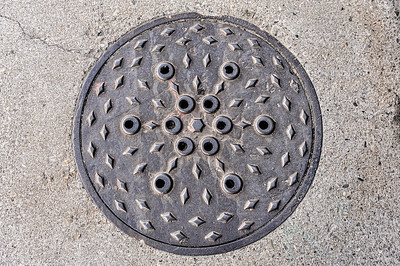 Eyeball Manhole Cover