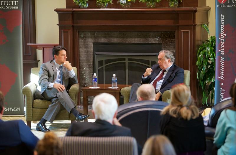 A Conversation with the Chilean Ambassador to US - Juan Gabriel Valdés- Kellogg Institute