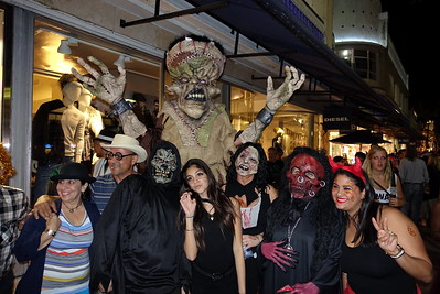 Halloween at Lincoln Road, Miami, Florida, 2014