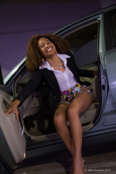 Getting out of the car