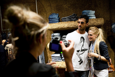 Fabrizio Corona, Vogue Fashion Night Out - Milan, Italy