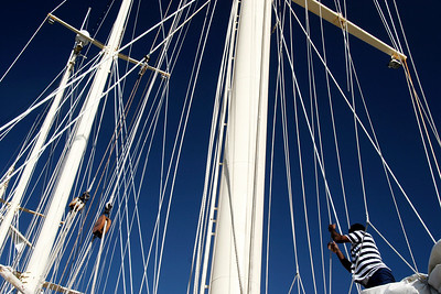 """Sailing Ship """"Star Clipper"""" - Mediterranean Sea"""