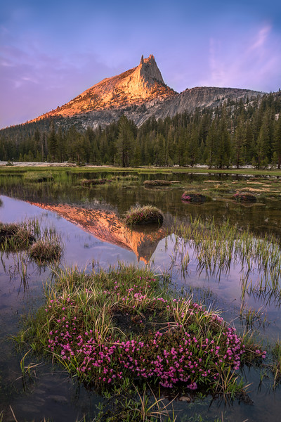 -Henry Mosier Cathedral Peak, Toulumne Meadows, CA.