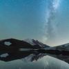 Milky Way over Mt. Rainier, Mt. Rainier National Park, Washington