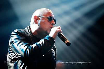 Shaun Ryder from The Happy Mondays
