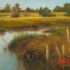 Curtin Creek Again<br /> 5x7 <br /> Oil on canvas panel