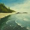 Strolling Ruby Beach<br /> 12 x 16<br /> Gallery wrap