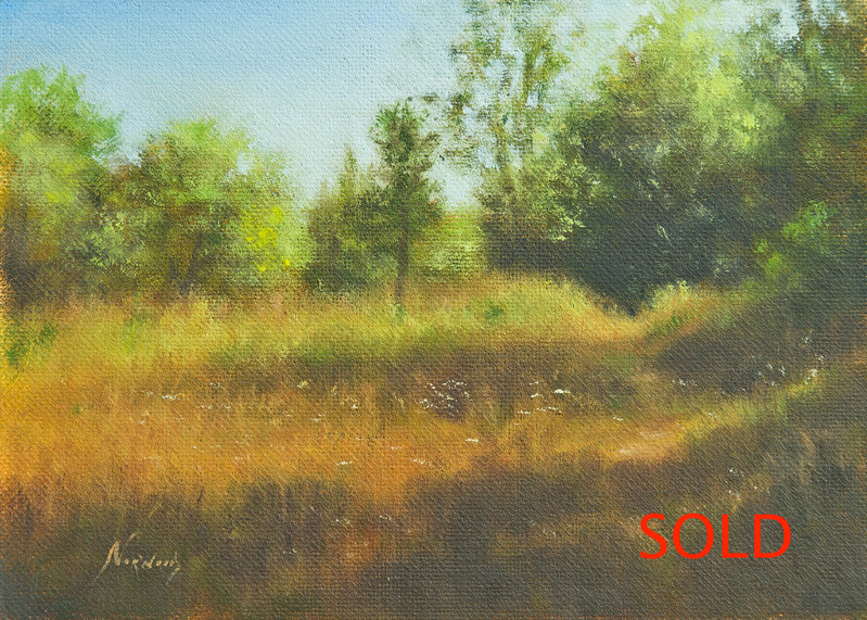 Autumn Secrets<br /> 5x7<br /> Oil on canvas panel